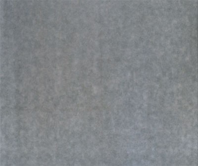 Howard Mehring - Untitled (gray all-over) c 1960-1962, magna on canvas, 108 x 118 inches.