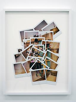 Jeremy Kost A Bus to Nowhere at 39th and 9th (One-Half Nelson) 2009, original polaroids 22.5 x 18 inches