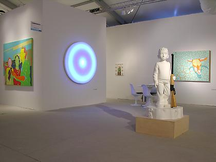 CONNERSMITH. Booth B19, Art Miami, 2012 Featuring work by Leo Villareal, Julie Roberts, Lisa Ruyter, Lincoln Schatz, Kenny Hunter and Erik Thor Sandberg