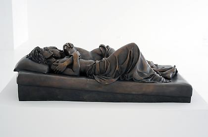 PATRICIA CRONIN Memorial to a Marriage 2012, Bronze, 17 x 26.5 x 53 inches
