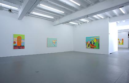 LISA RUYTER Let us now Praise Famous Men 2012, installation view, CONNERSMITH.