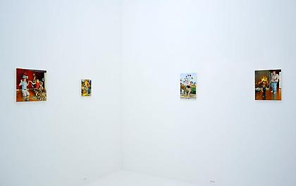 NATHANIEL ROGERS When Disaster Strikes Installation view - Conner Contemporary Art
