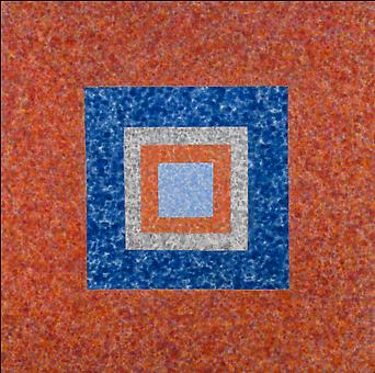HOWARD MEHRING Untitled c. 1961-62, magna on canvas, 59.5 x 59.5 inches