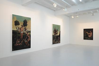 ERIK THOR SANDBERG Cyclical Nature installation view - Conner Contemporary Art