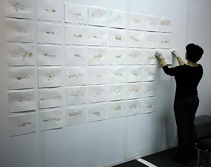Mary Coble Blood Script performance at PULSE New York 2008