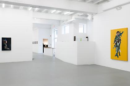 KATIE MILLER Enduring 2014, installation view, CONNERSMITH.