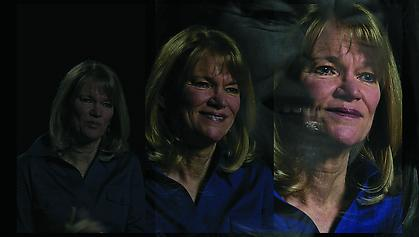LINCOLN SCHATZ The Network (Martha Raddatz) 2012, face-mounted pigment print, 16.75 x 30 inches, ed. 5