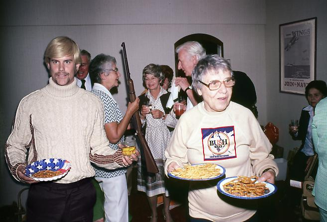 Recollections in America: Party Snacks & Riffle