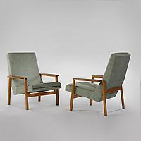 Pair of 641 Armchairs