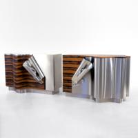Drape Cabinets, 2005