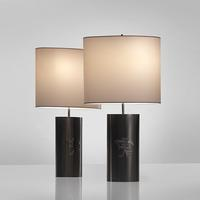 Pair of Brass Lamps, 1974