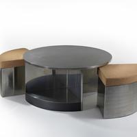 Tambour Table, 1968 c.