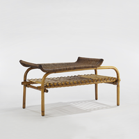 Rattan low table, 1954