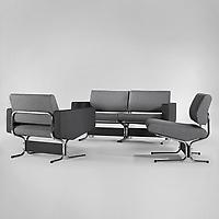 Caracas Set: 3 Seat Sofa and Pair of Armchairs