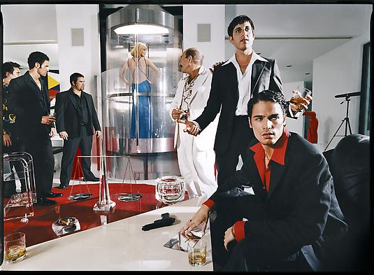 David LaChapelle, <i>I Always Tell the Truth Even When I Lie</i>, 2002, Chromogenic Print, 20 x 24 inches