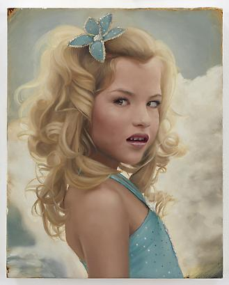 Sky Tinley, 2010 Oil on linen 10 x 8 inches (c) Jean-Philippe Humbert