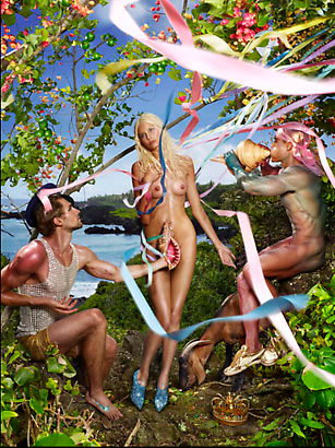 David LaChapelle Birth of Venus, 2009 Digital C-print  101.6 x 76.2 cm