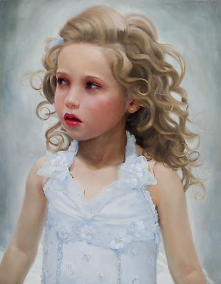 <i>Kiera</i>, 2008 Oil on linen 14 x 11 inches