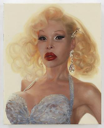 Amanda, 2010 Oil on linen 10 x 8 inches (c) Jean-Philippe Humbert