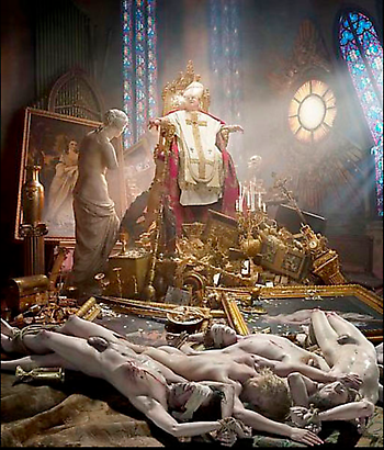 David LaChapelle Thy Kingdom Come, 2009 Digital C-print  61 x 50.8 cm