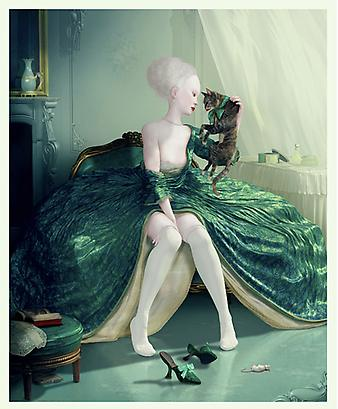 "ray caesar <i>french kiss</i> digital ultrachrome on epson luster (edition of 20) 42"" x 34"" in. (106.7 x 86.4 cm.)"