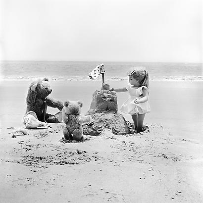 <i>The Lonely Doll: they went to the beach---</i>, 1956 (Printed 2012) Chromogenic Print