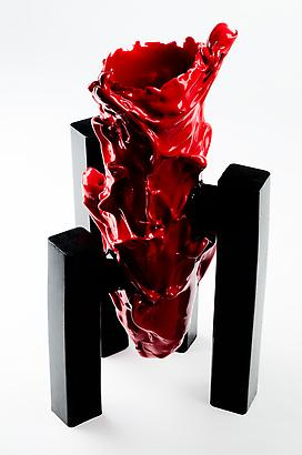 Fire By Night, 2012 Resin 21.65 x 5.9 x 5.9 inches 54.99 x 14.98 x 14.98 cm