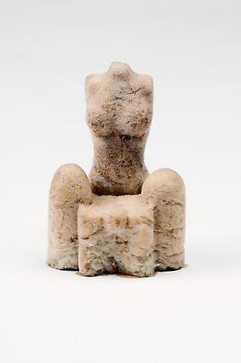 Feminino Chair, 2004 Natural Fibers and Rubber 6 x 3.6 x 2.4 inches 15.24 x 9.14 x 6.07 cm