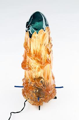 Blooming Light, 2012 Resin 21.2 x 7 inches 53.84 x 17.78 cm