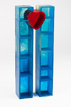 World Trade Center Open Heart (Maquette), 2006 Resin 53.94 x 8.16 x 8.18 inches 4.49 x 20.72 x 20.72 cm