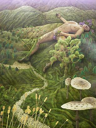 <i>Gaia</i>, 2011, Chromogenic Print