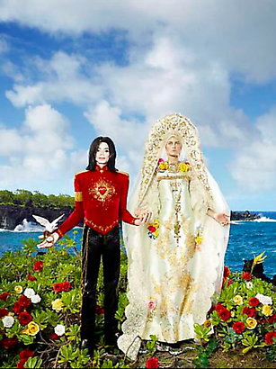 David LaChapelle The Beautification: I'll Never Let You Part for You're Always in My Heart, 2009 Digital C-print  101.6 x 76.2 cm