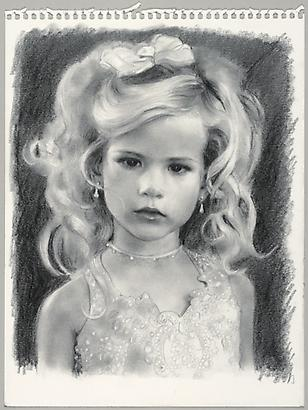 Tinley, 2010 Pencil on paper 12 x 9 inches (c) Jean-Philippe Humbert