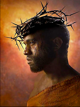 David LaChapelle Kanye West: Passion of the Christ, 2009 Digital C-print  101.6 x 76.2 cm
