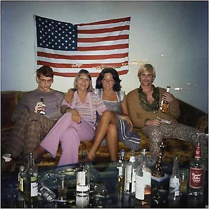 David LaChapelle <i>Recollections of America:  Double Date</i>, 2006 C- print, Ed. 5/5 20 x 20 inches 50.8 x 50.8 cm