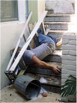 Lee Materazzi <i>Ladder</i>, 2009 C-print Edition 1/5 30 x 40 inches 76.2 x 101.6 cm