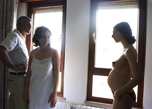 Elinor Carucci Showing my Pregnancy, 2004	   Chromogenic Prints on Fuji Chrystal Archive Paper  50 X 66 cm