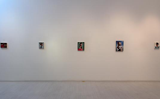 Installation view, Gretchen Ryan: <i>Hearts for Eyes</i>, 2012 Galerie Steph, Singapore