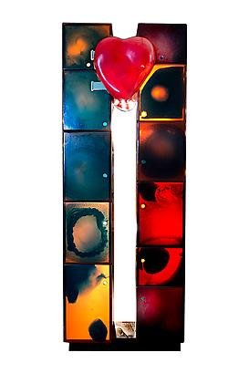World Trade Center Open Heart, 2013 Urethane Resin, Copper Hinges, Lacquered Wood 98.4 x 39 x 14.4 inches 249.93 x 99.06 x 36.57 cm