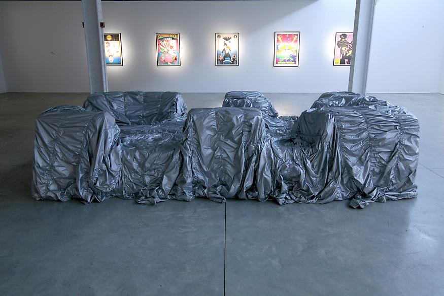 Untitled   Couch, 2007 Urethane Foam And Nylon Covers 37 X 78 X 82 Inches  Each 94 X 198.1 X 208.3 Cm | John Chamberlain | Pinterest