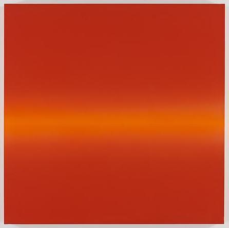 Horizon 2009 Acrylic on linen 67 x 67 x 3 inches
