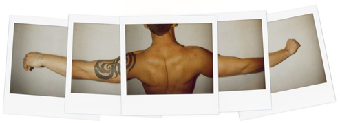 JEREMY KOST Untitled (Tattoo Print) 2008 Inkjet print on paper 24 x 48 inches Edition of 5