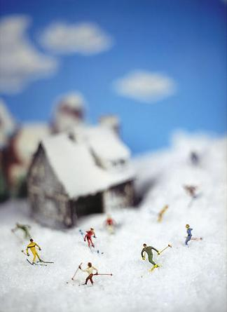 Holiday On Snow, 2008 Pigment print on textured rag paper 20 x 16 inches Edition of 12