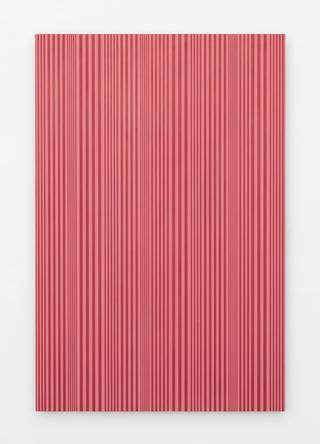 Untitled (#55), 2015 Enamel on aluminum 48 x 32 inches
