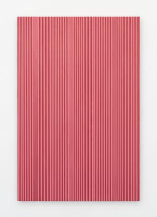 Untitled (#55), 2015 Enamel on aluminum 48 x 32 inches