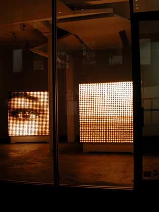 Installation view at Sandra Gering Gallery, 2001-02
