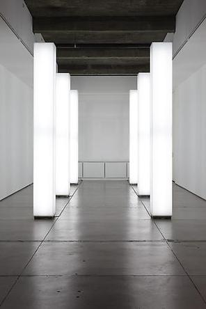 Light Installation, 2001 Acrylic, steel, fluorescent light fixtures, fluorescent light bulbs, electrical hardware, in six parts 122 x 13 ¾ x 13 ¾ inches each Edition of 3