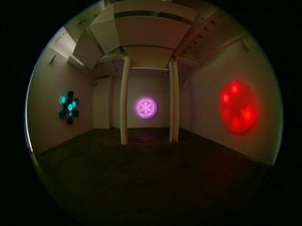 Installation view at Sandra Gering Gallery 2002