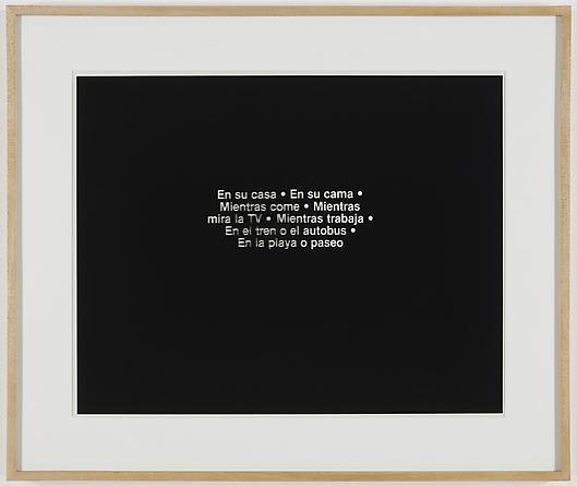 En Su Casa, 1987 Kodalith 17 ½ x 22 inches