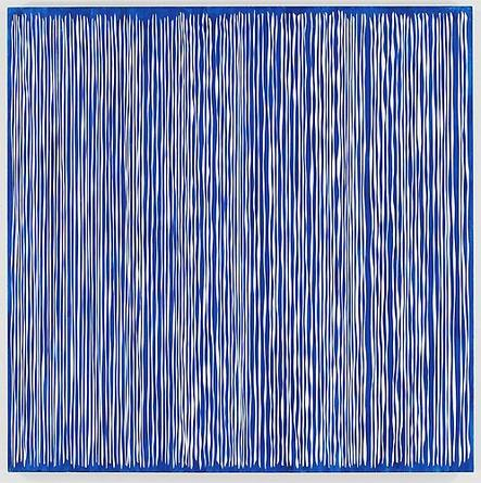 Michael Scott Untitled, 2005 Enamel on aluminum 66 x 66 x 2 inches